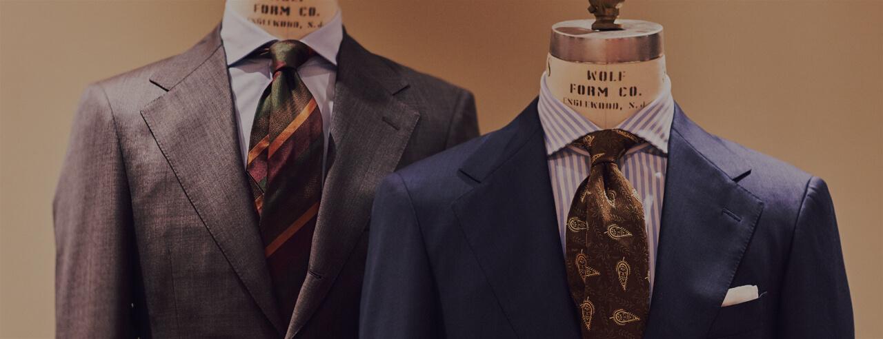 Tビジネススーツ・紳士服をご紹介するTHE G'S HIDEOUT.(ザ・ジーズ・ハイドアウト)でスーツのオーダーをする事が出来ます。