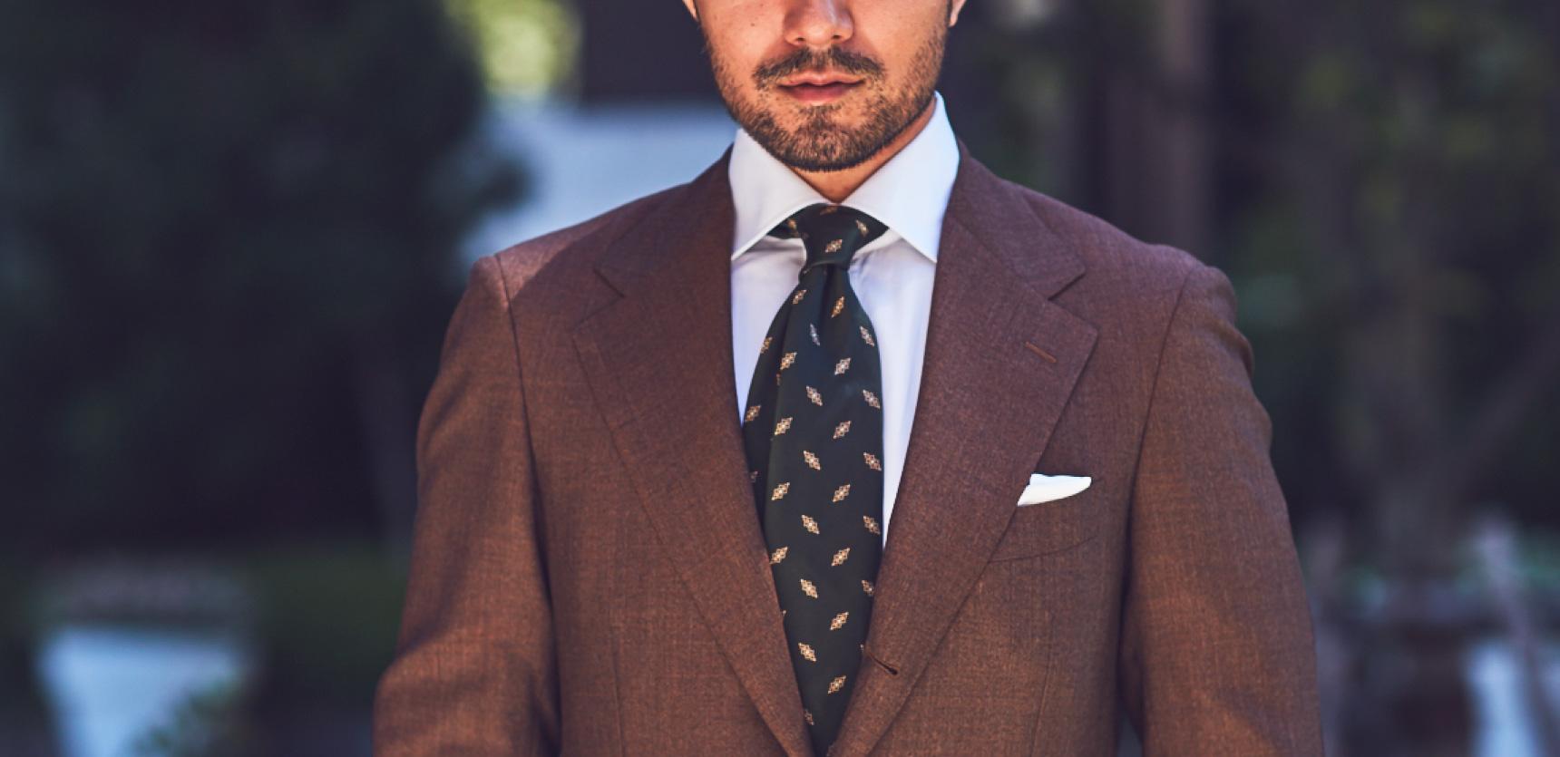 クラシックなスーツに合う、イタリアブランドBORRIELLO(ボリエッロ)のシャツをTHE G'S HIDEOUT.(ザ・ジーズ・ハイドアウト)でお取り扱いしております。