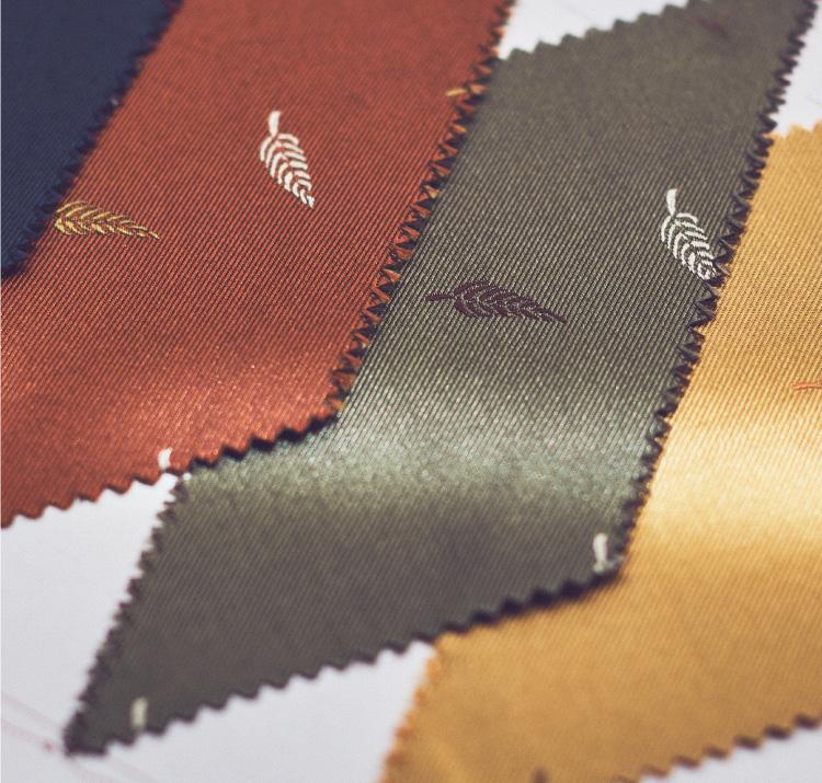 イタリアブランドAtto Vannucci(アット・ヴァンヌッチのネクタイを数多くお取り扱いしております。